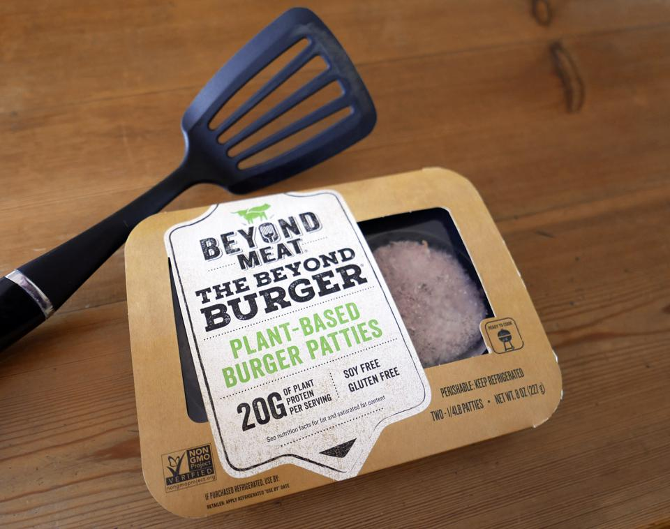 Beyond Meat's stock price surged Thursday on news of the McDonald's test.