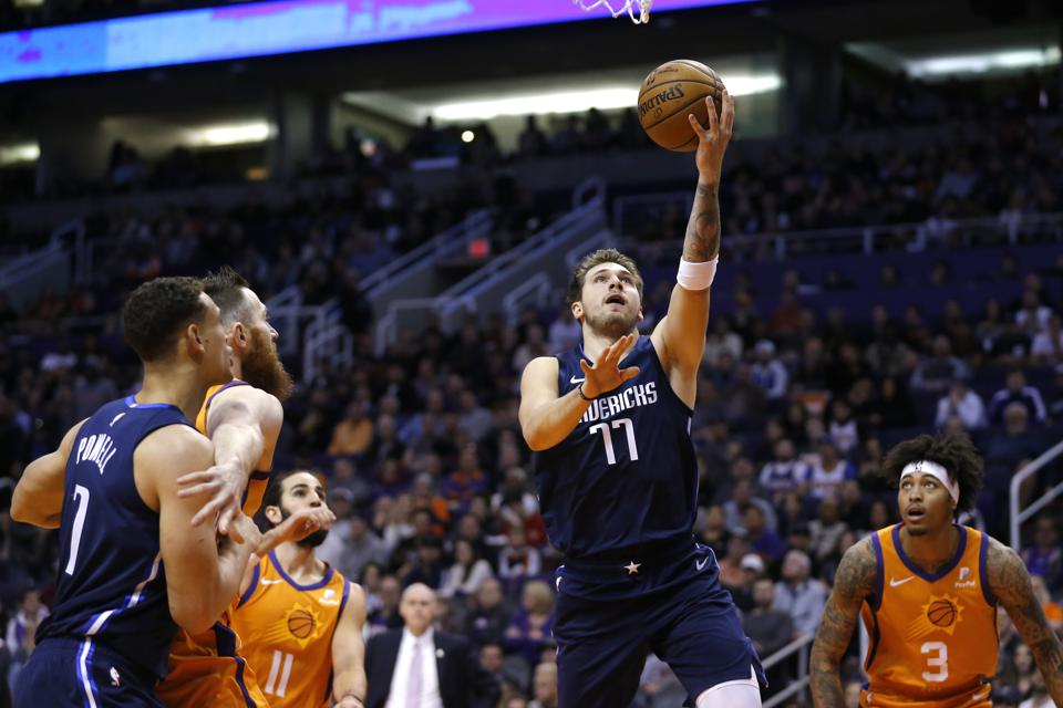 Mavericks Suns Basketball