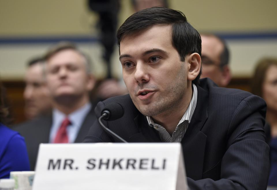 Martin Shkreli Hit With $4.6M IRS Tax Lien On Top Of SEC Charges