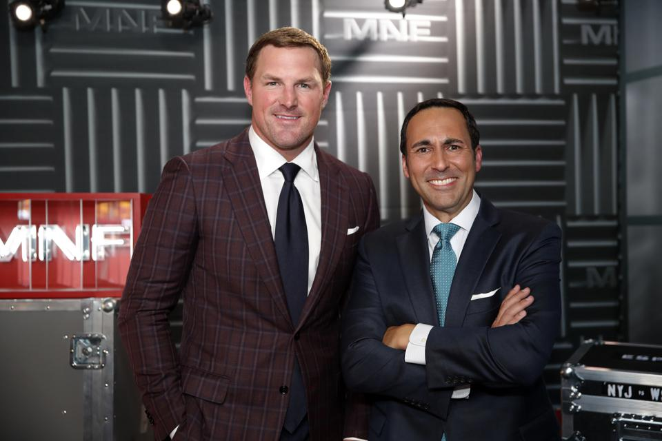Jason Witten, a former Dallas Cowboys tight end, and ESPN's Joe Tessitore are the new