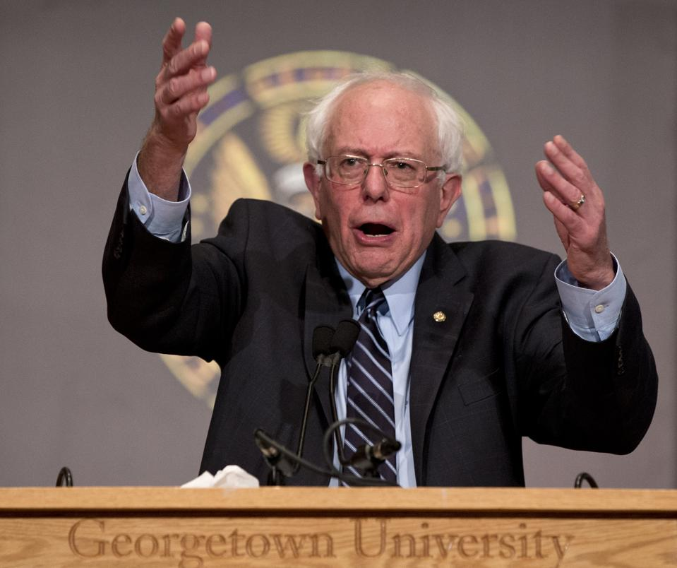 Bernie Sanders: 'To Hell With The Fossil Fuel Industry'