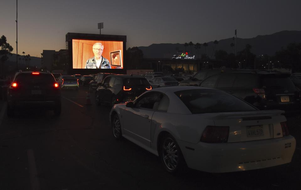 Tribeca Drive-In - Pasadena Steven Spielberg Jaws introduction