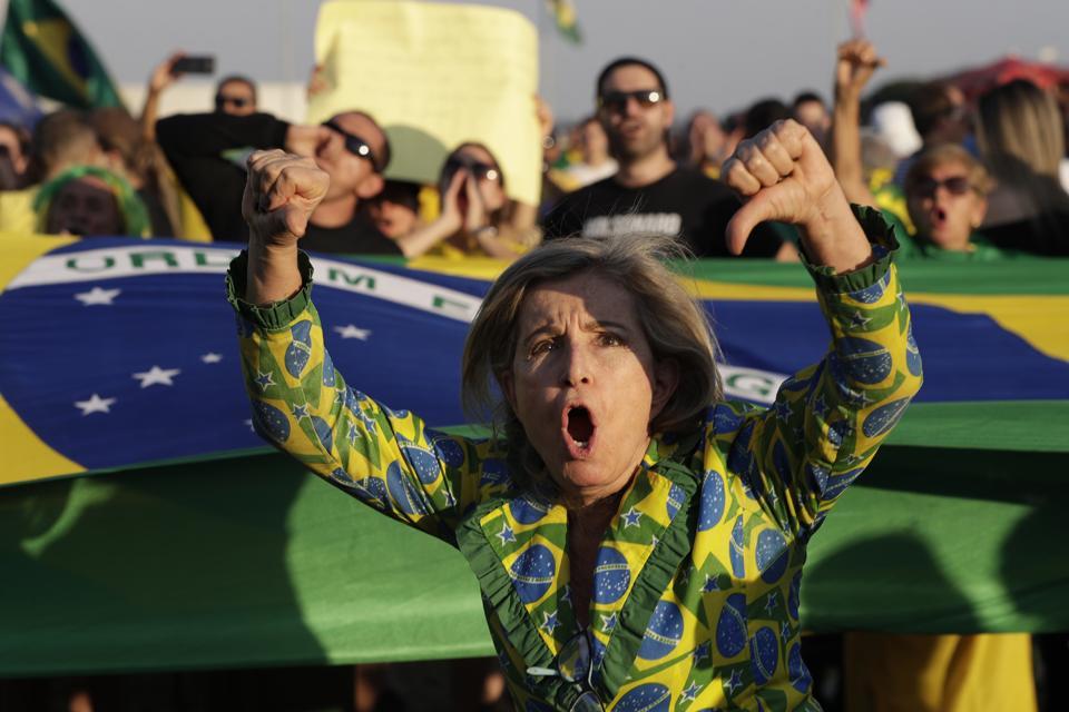 Brazilski protest