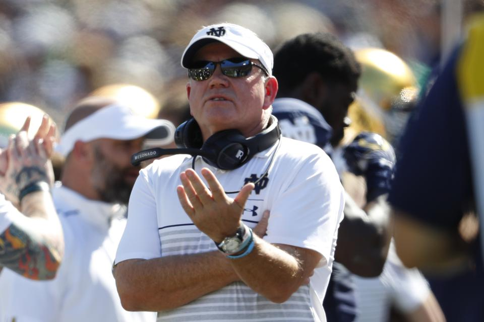 Two Years After Fans Called For His Firing, Notre Dame Football Coach Brian Kelly Has The Irish Back Among The Nation's Elite