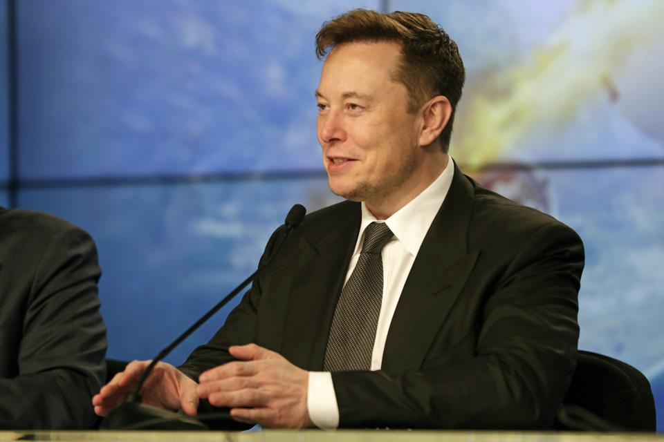 Elon Musk (AP Photo/John Raoux)