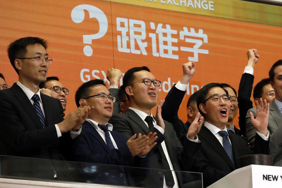 Financial Markets Wall Street GSX Techedu IPO