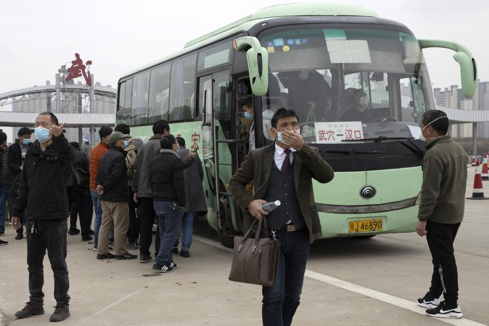 Virus Outbreak China Daily Life