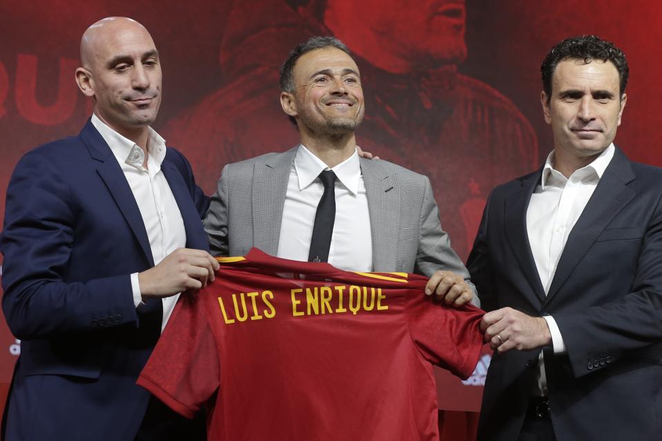 Spain Soccer Luis Enrique
