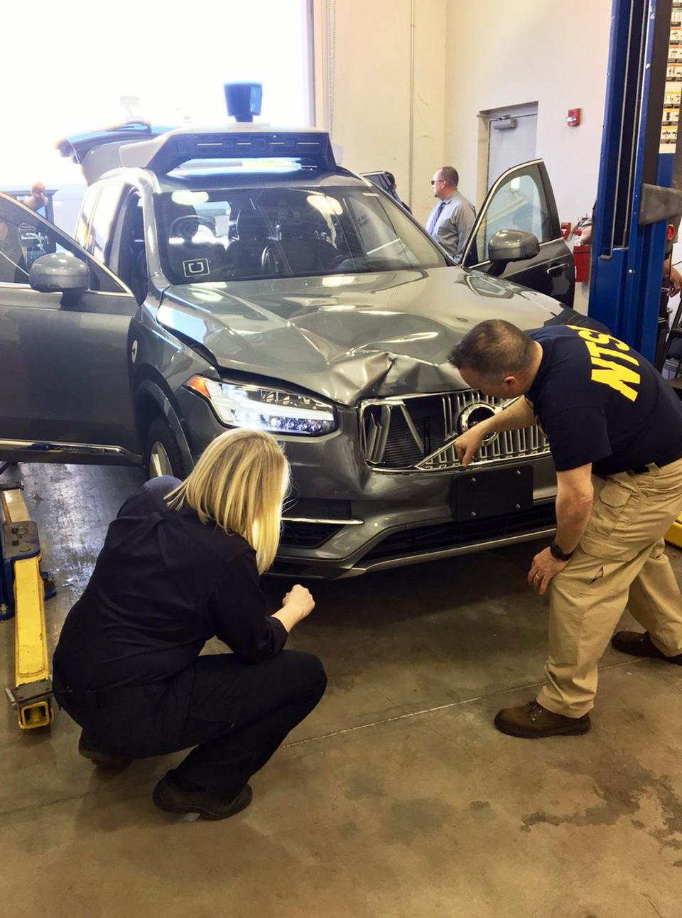Self-Driving Vehicle Fatality Investigation
