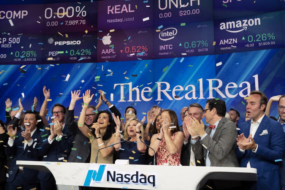Financial Markets RealReal IPO