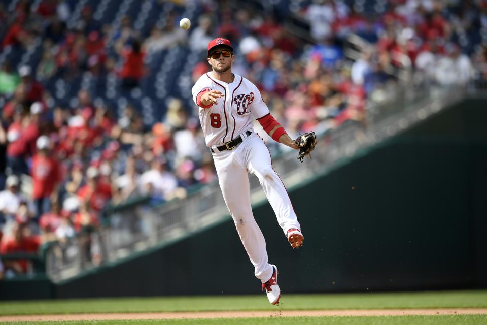 Top Home Run Hitters 2020.Forecasting The Right Side Of Nationals Infield In 2020