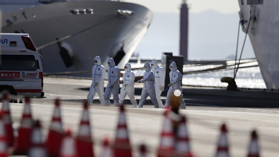 China Outbreak Japan Virus Ship