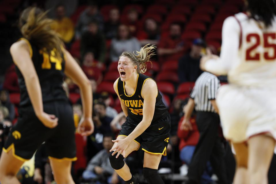 Iowa's Monika Czinano Named To Big Ten Honor Roll For First Time