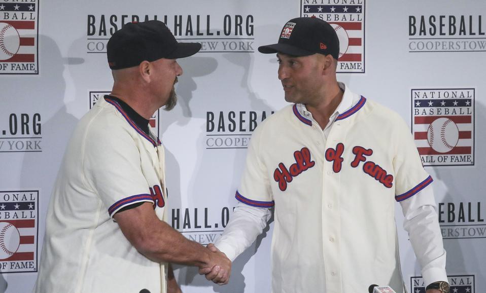 Hall of Fame Jeter Walker Baseball
