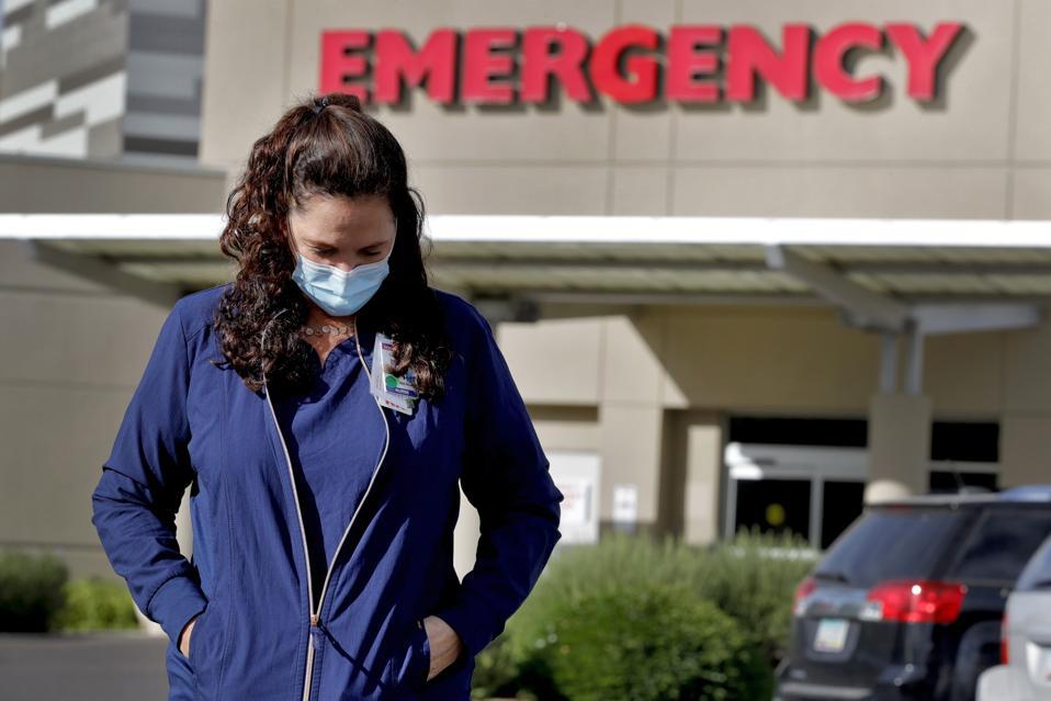 Virus Outbreak Arizona Frontlines