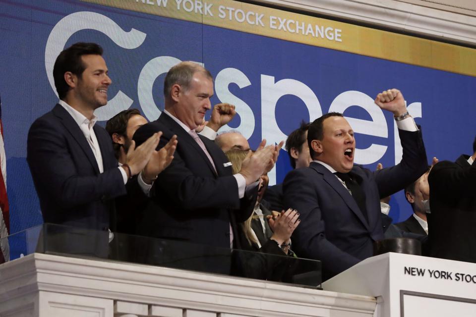 Financial Markets Wall Street Casper IPO