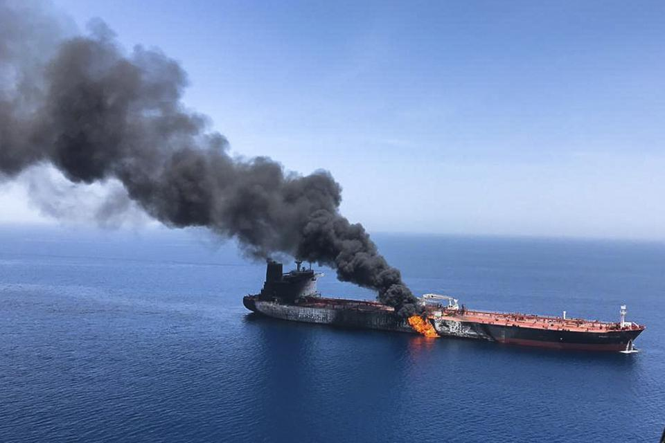 Persian Gulf Tensions Shipping Risks
