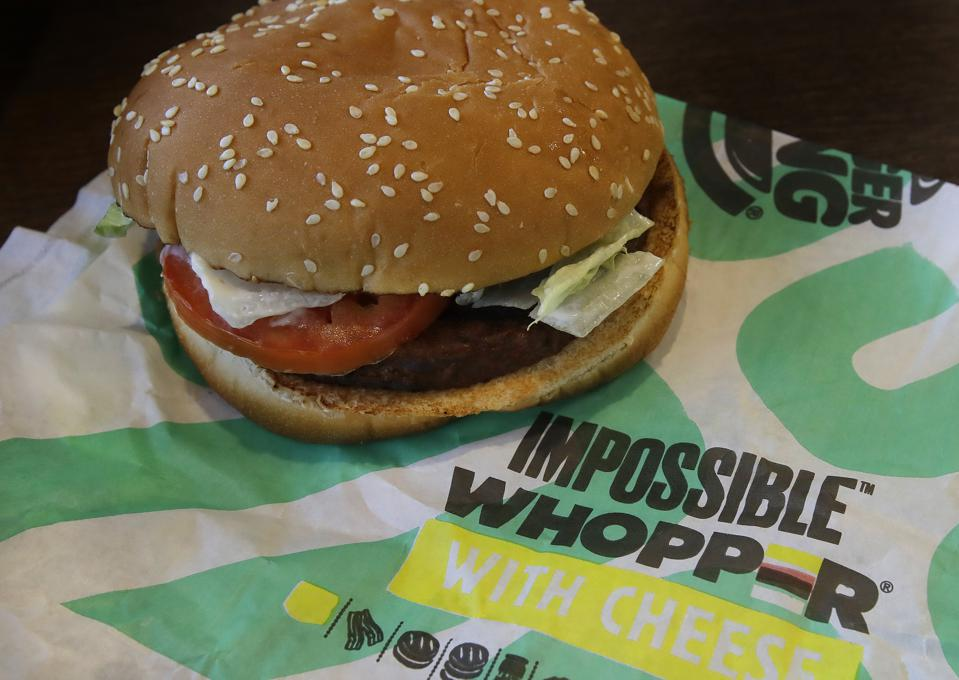 Whopper Impossible Foods