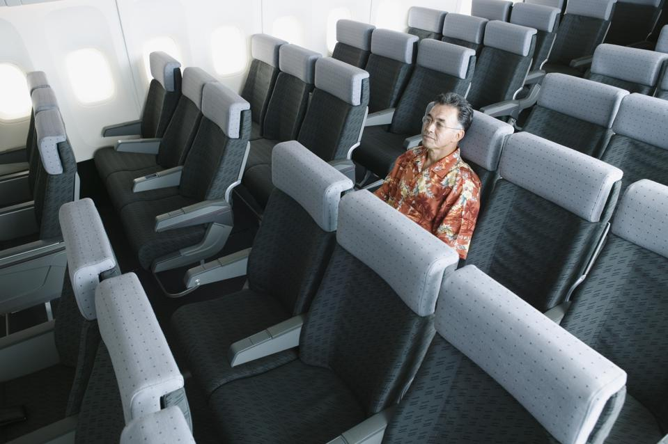 Some airlines are making aircraft cabins more spacious, at least temporarily