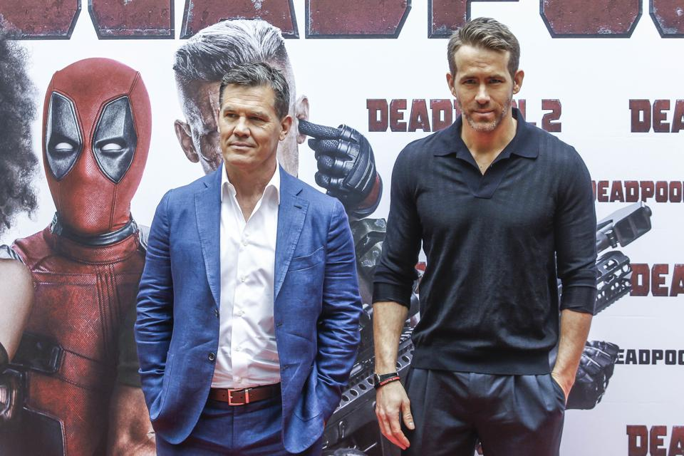 Deadpool 2 photocall in Madrid