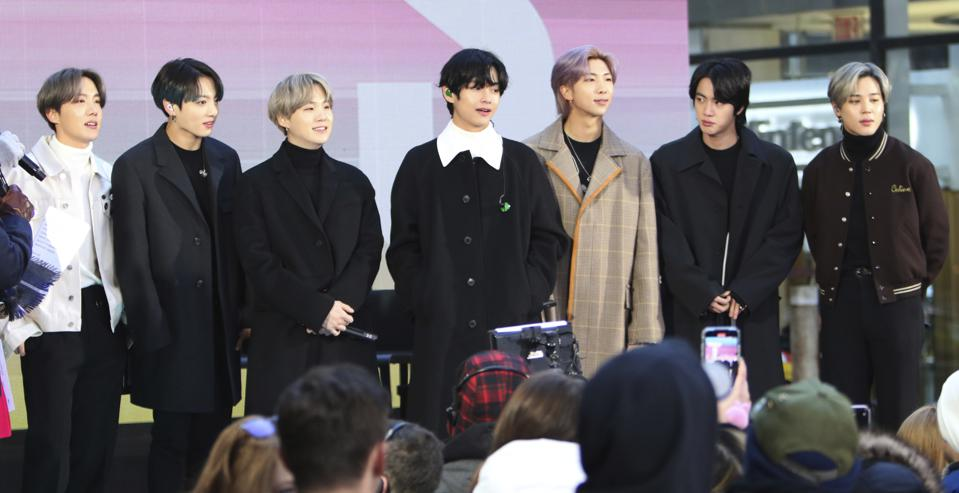 BTS live interview on Today Show