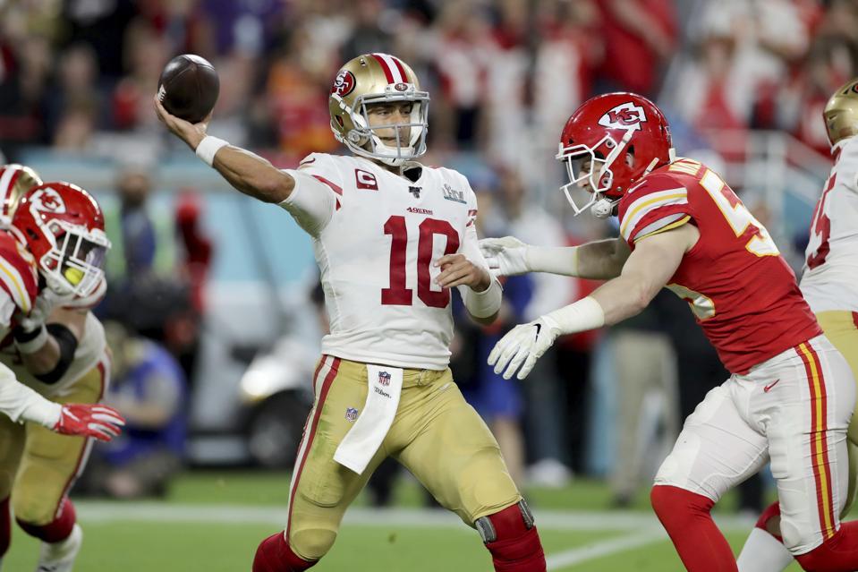 49ers Chiefs Super Bowl NFL Football