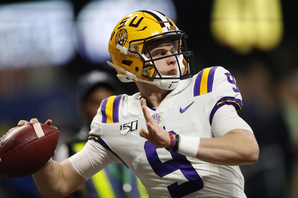 Will LSU Quarterback Joe Burrow Win The Heisman Trophy By ...