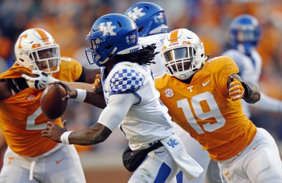 Kentucky Tennessee Football