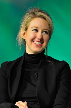 Elizabeth Holmes, woman billionaire