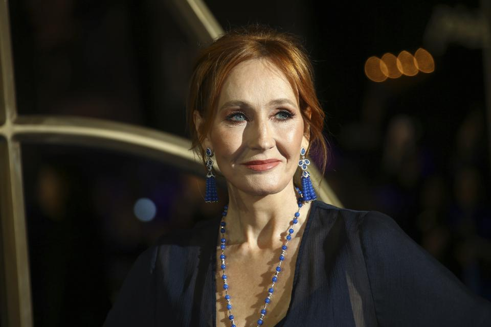 Britain Fantastic Beasts: The Crimes of Grindelwald Premiere J.K. Rowling Harry Potter author