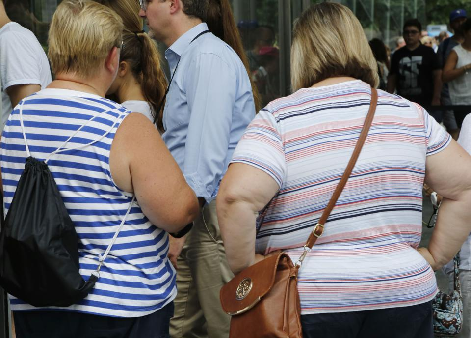 Nearly three quarters of American adults are overweight, according to federal government statistics.