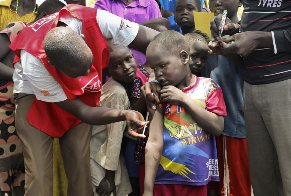 South Sudan Measles Outbreak