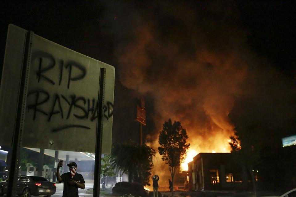 APTOPIX Police Shooting Atlanta