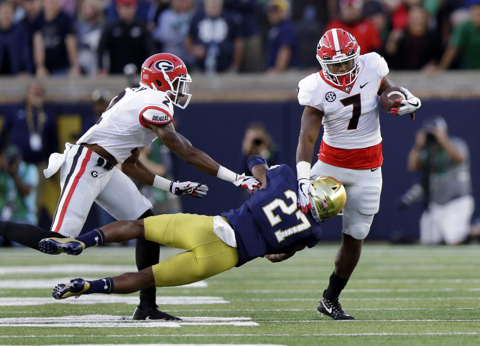College Football Week 4 Guide: CFP Sorting Process Begins With Marquee Games Like Georgia-Notre Dame