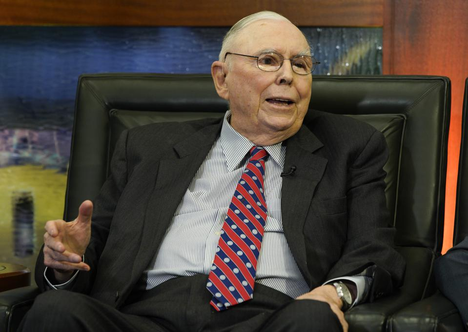Charlie Munger: The Strongest Companies In The World Are In China, Not America