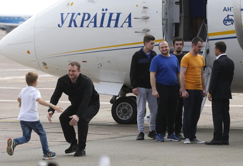 Ukraine Russia Prisoners