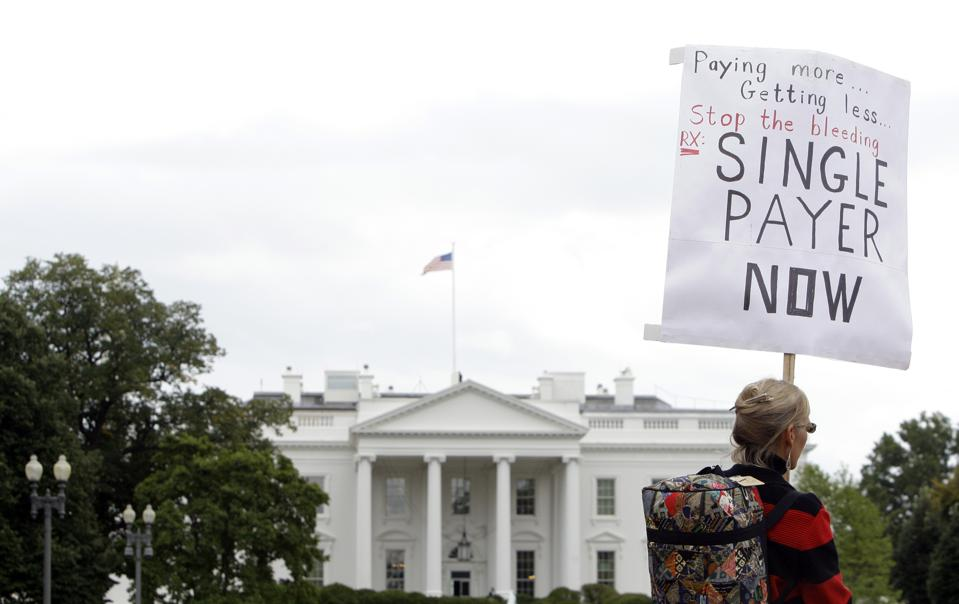 Doctors Protest Healthcare Overhaul