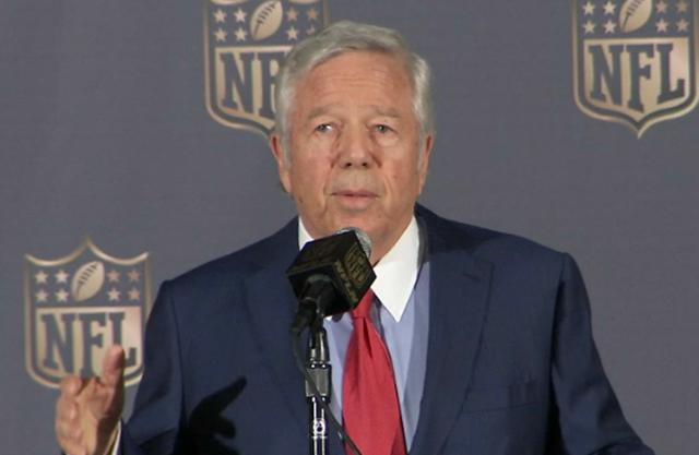 Robert Kraft Chooses 'La Familia' Over War, While The Emperor Of The NFL Has No Clothes