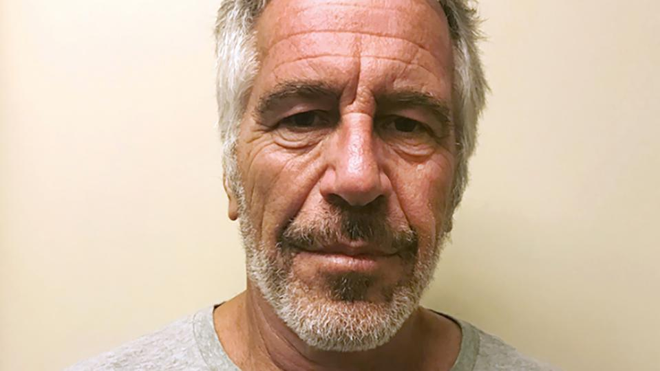 Jeffrey Epstein's 2017 sex offender registry photo.