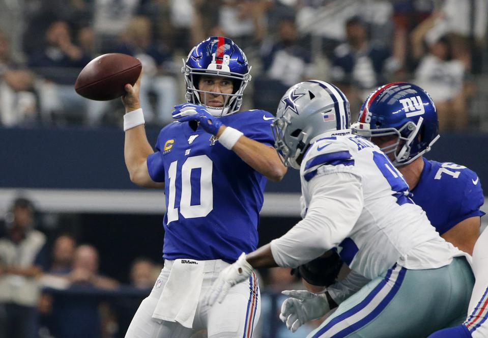 Instant Reactions From The Giants' 35-17 Week 1 Loss To ...