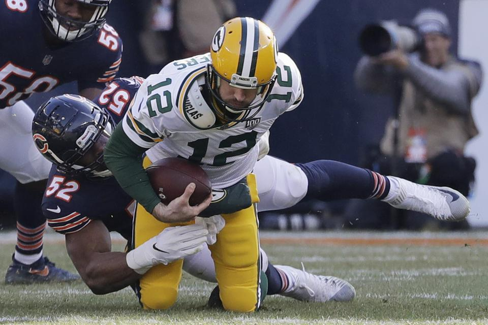 Mack Attack: Packers Must Find A Way To Slow Bears' Standout