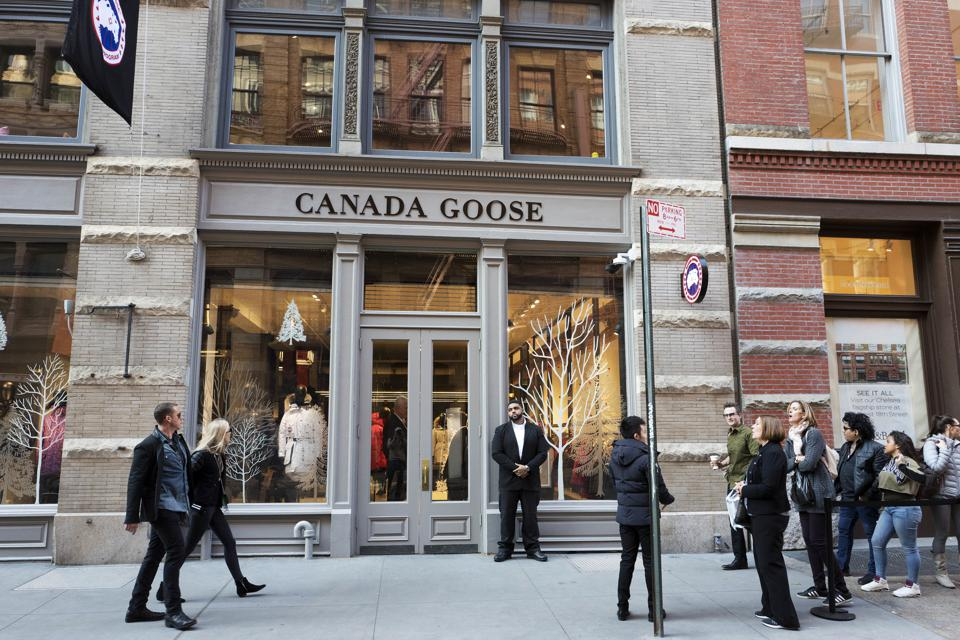 Canada goose ipo list date