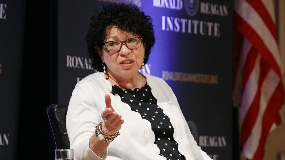 SCOTUS Ginsburg Sotomayor