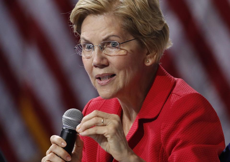 As Elizabeth Warren Rises, Insurers Tighten Grip On Medicare