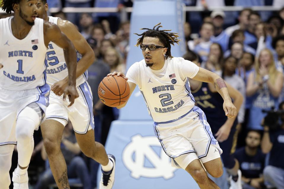 Cole Anthony Sets North Carolina, ACC Records In College Debut