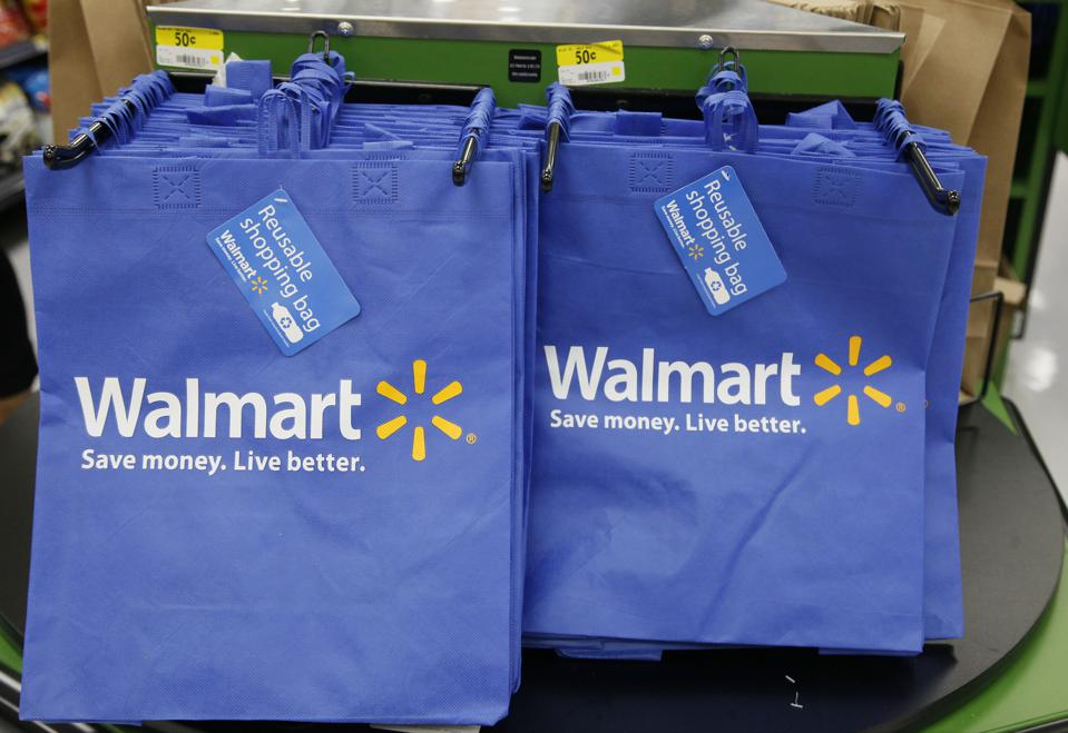 Why did walmart take the unusual step to tackle chemicals for Fishing bags walmart