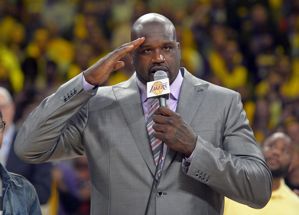 Shaquille O'Neal Gets Lakers Legend Status With Future Statue
