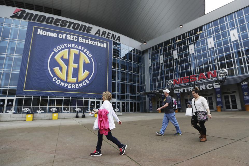 Virus Outbreak SEC Basketball