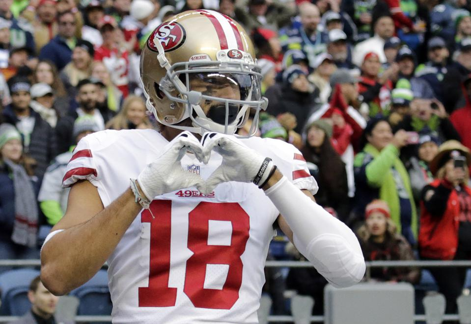 00a8c8dc Dante Pettis And Other San Francisco 49ers Players Set For Breakout ...