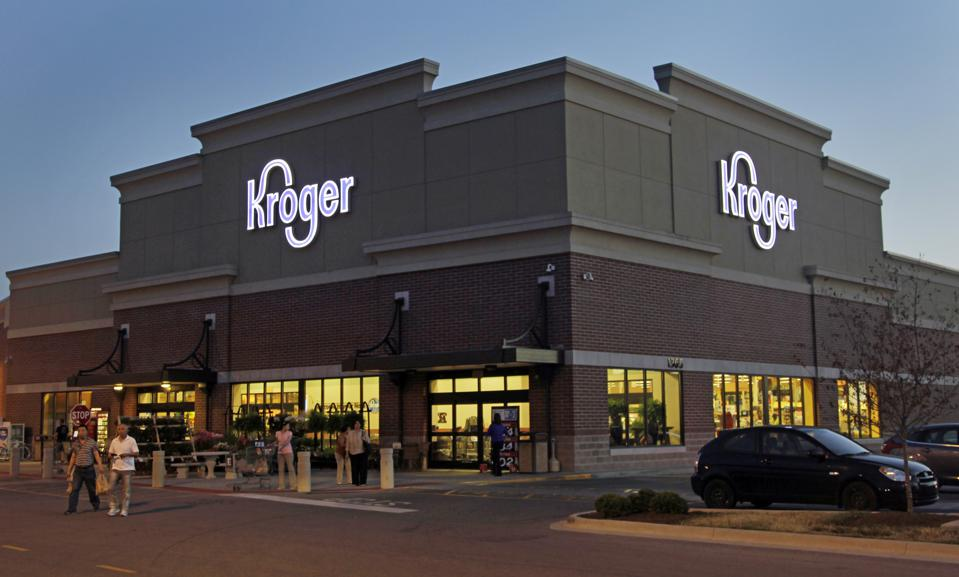 Kroger store in Indianapolis. AP Photo/Michael Conroy